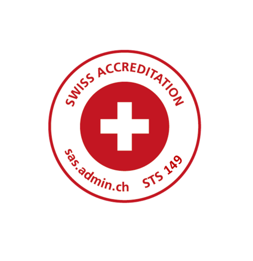 Renewal of Accreditation by the Swiss Accreditation Service